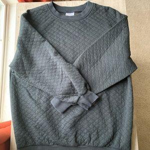 Size Medium Quilted Sweatshirt